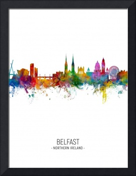 Belfast Northern Ireland Skyline