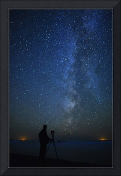 Milky Way Photographer on the Pacific Ocean
