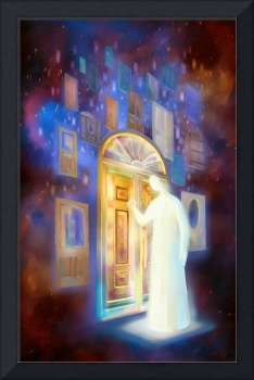 Jesus stands at the door and knocks