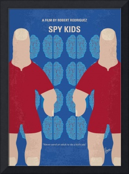 No681 My Spy Kids minimal movie poster