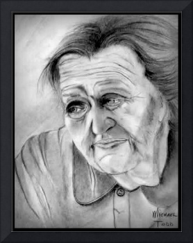 Old woman from Russia