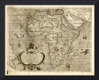 Map of Africa (1602)