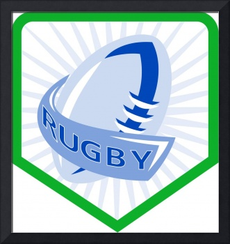rugby ball shield