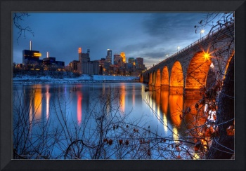 Minneapolis Skyline Images Stone Arch Bridge