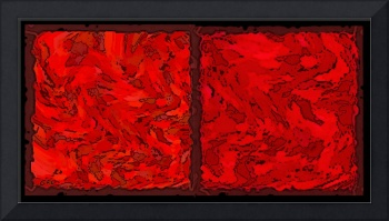 COLOR OF RED VI CONTEMPORARY DIGITAL ART