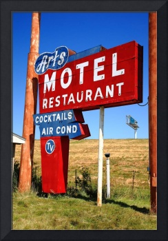Route 66 - Art's Motel 2012