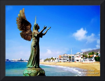 Angel at Puerto Vallarta