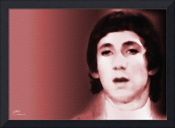 Pete Townsend, The Who - fine art giclee print