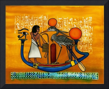 Egyptian Barque, a soul's journey