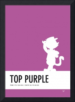 No11 My Minimal Color Code poster Top Cat