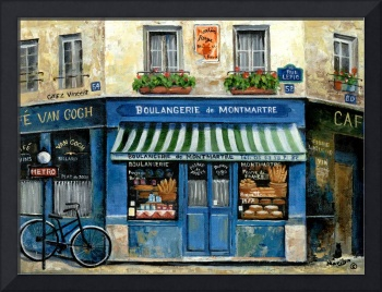 French Bakery Blue