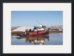 Tugboat Reflected by Rich Kaminsky
