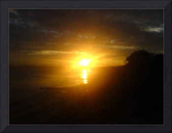 Bournemouth sunset 1