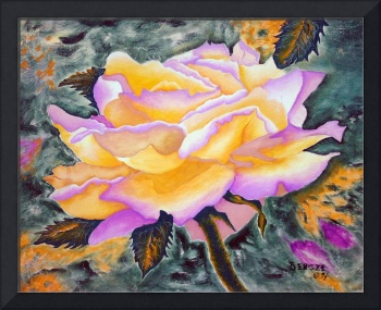 Yellow Rose - Oil