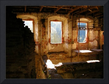 Interior Shot of an Old Castle