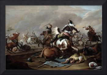 The Clash of the Cavalry, 1770