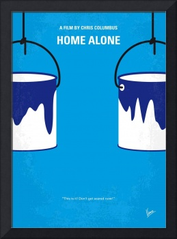No427 My Home alone minimal movie poster