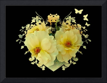 Yellow Rose I Love You