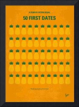 No696 My 50 First Dates minimal movie