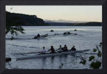 Rowing on the Hudson