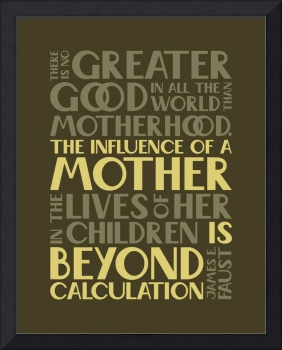 Influence of a Mother • Brown