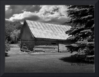 Wolter Log Barn — Mayer, MN