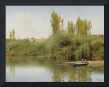 Emilio Sánchez-Perrier, On the Banks of the Guadaí