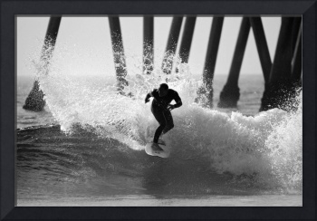 Huntington beach Surfer