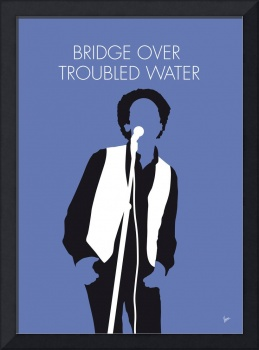 No098 MY ART GARFUNKEL Minimal Music poster