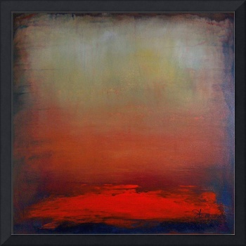 Hazy Abstract Sunset (Square)