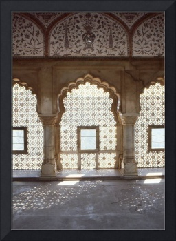 indo islamic carved windows