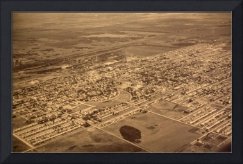 Aerial of Early Transcona