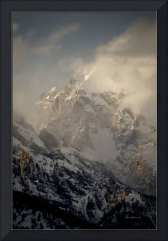 Grand Teton clouds