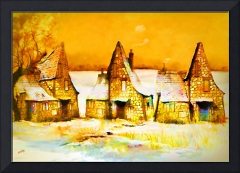 Gingerbread Cottages