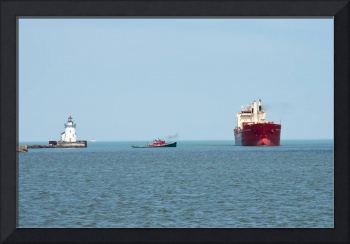 Arriving At The Port Of Cleveland