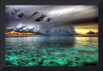 Thunderstorm in paradise