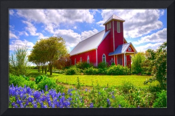 Bluebonnet Wedding Chapel