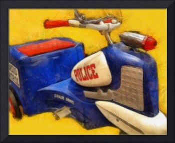 Classic Police Tricycle