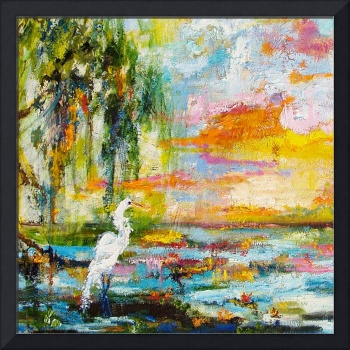 Okefenokee Magic 2010 Oil Painting by Ginette