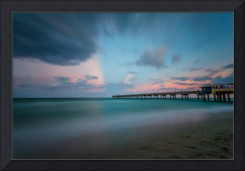 Dania Beach Pier at Sunset V