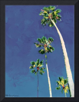 Little Piece of Heaven, Palm Trees by Riccoboni ,