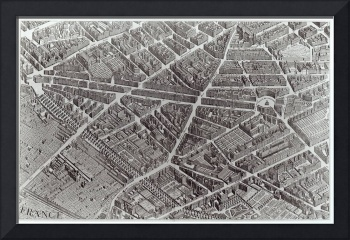 Plan of Paris