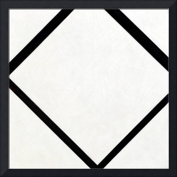 Piet Mondrian Composition No. 1 Lozenge with Four