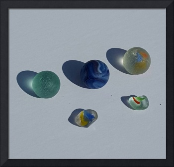 Beach Glass Marbles