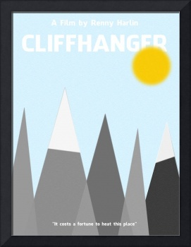 Cliffhanger Minimalist Movie Poster 2 thumbs