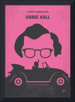 No147 My Annie Hall minimal movie poster