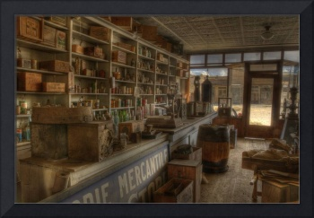 Boone Store Overview, Ghost Town of Bodie
