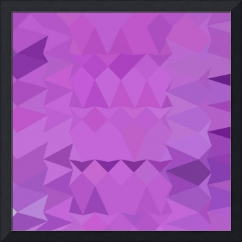 Bright Lavender Abstract Low Polygon Background