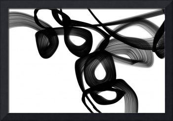 ORL-7110 Abstract Poetry in Black and White 3