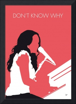 No252 MY Norah Jones Minimal Music poster